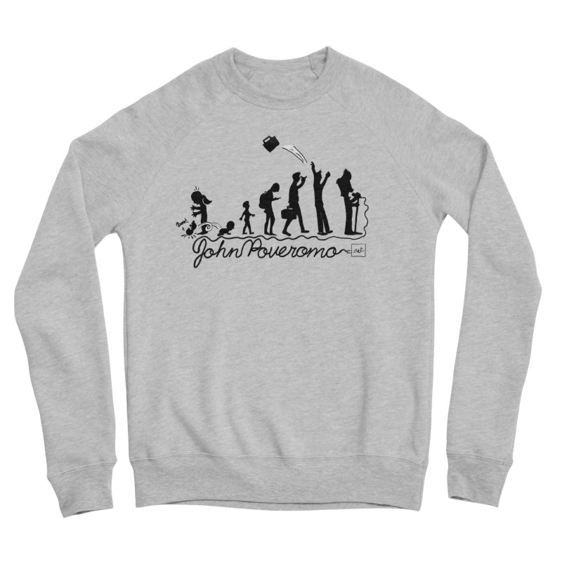 Comic Evolution (Dot Net Edition) Women's Sponge Fleece Sweatshirt by John Poveromo's Artist Shop