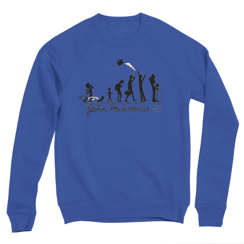 Comic Evolution (Dot Net Edition) Men's Sweatshirt by John Poveromo's Artist Shop