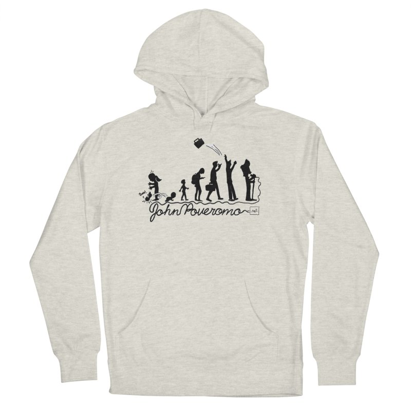 Comic Evolution (Dot Net Edition) Men's French Terry Pullover Hoody by John Poveromo's Artist Shop