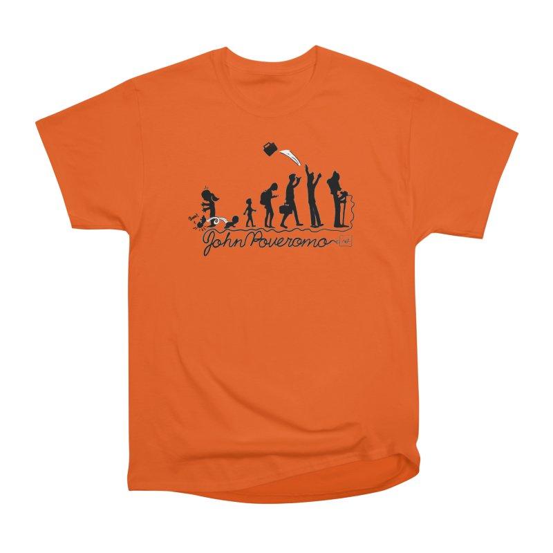 Comic Evolution (Dot Net Edition) Men's Heavyweight T-Shirt by John Poveromo's Artist Shop