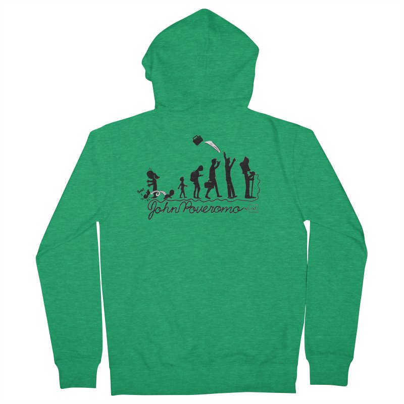 Comic Evolution (Dot Net Edition) Men's Zip-Up Hoody by John Poveromo's Artist Shop