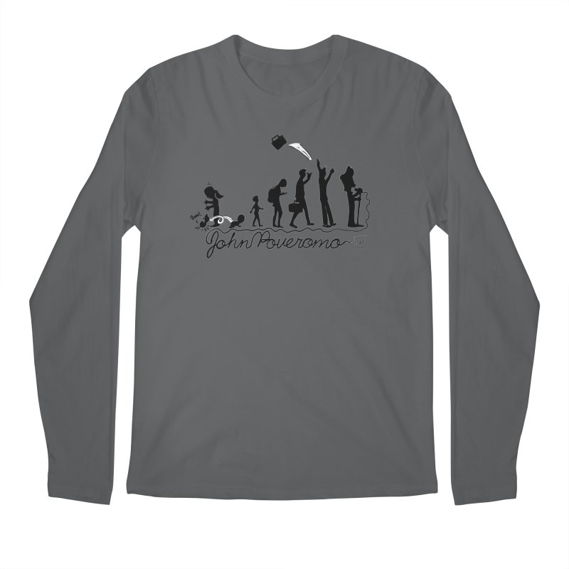 Comic Evolution (Dot Net Edition) Men's Longsleeve T-Shirt by John Poveromo's Artist Shop