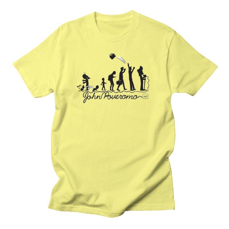 Comic Evolution (Dot Net Edition) Women's Regular Unisex T-Shirt by John Poveromo's Artist Shop