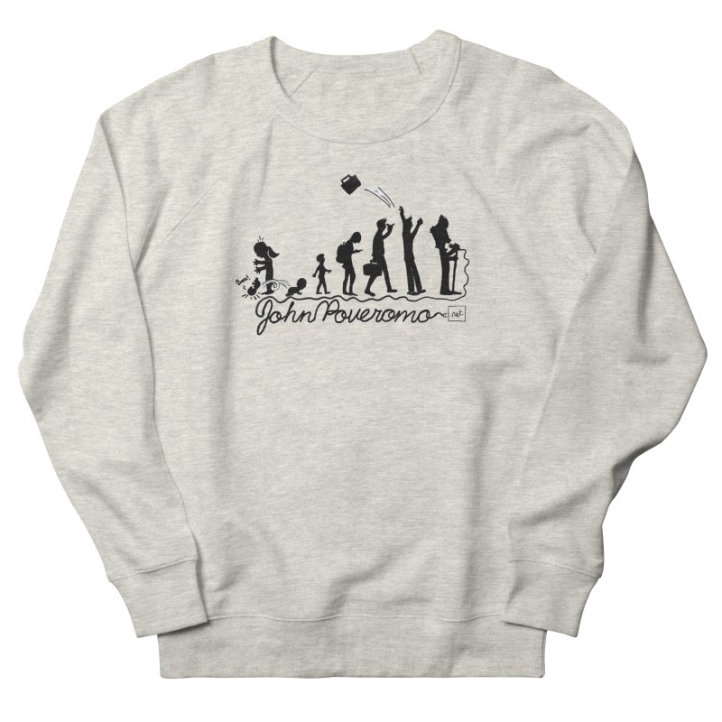 Comic Evolution (Dot Net Edition) Women's French Terry Sweatshirt by John Poveromo's Artist Shop