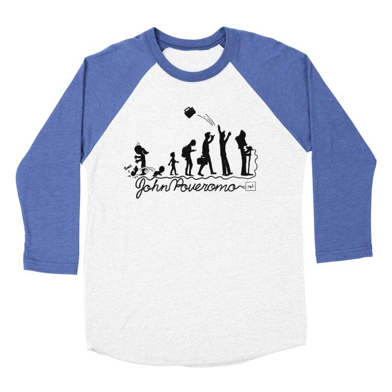 Comic Evolution (Dot Net Edition) Women's Baseball Triblend Longsleeve T-Shirt by John Poveromo's Artist Shop