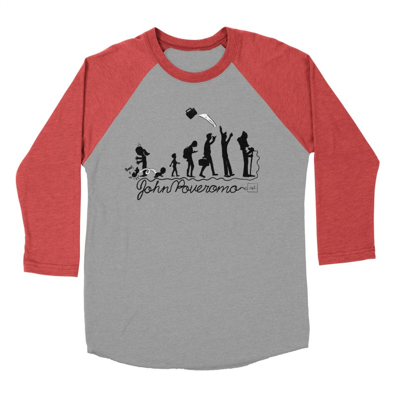 Comic Evolution (Dot Net Edition) Women's Baseball Triblend Longsleeve T-Shirt by John Poveromo's Artist Shop