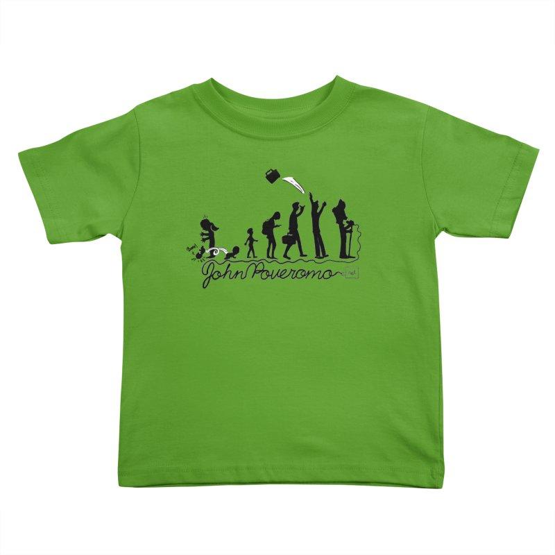 Comic Evolution (Dot Net Edition) Kids Toddler T-Shirt by John Poveromo's Artist Shop