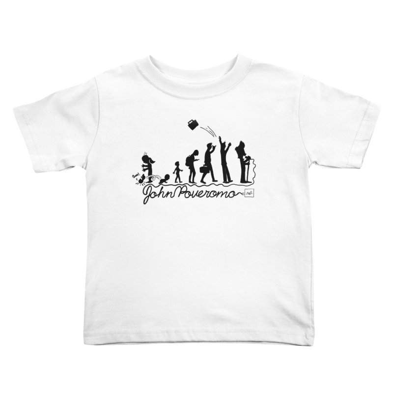 Comic Evolution (Dot Net Edition) Kids Toddler T-Shirt by John Poveromo's Artist Shop