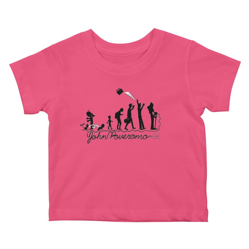 Comic Evolution (Dot Net Edition) Kids Baby T-Shirt by John Poveromo's Artist Shop