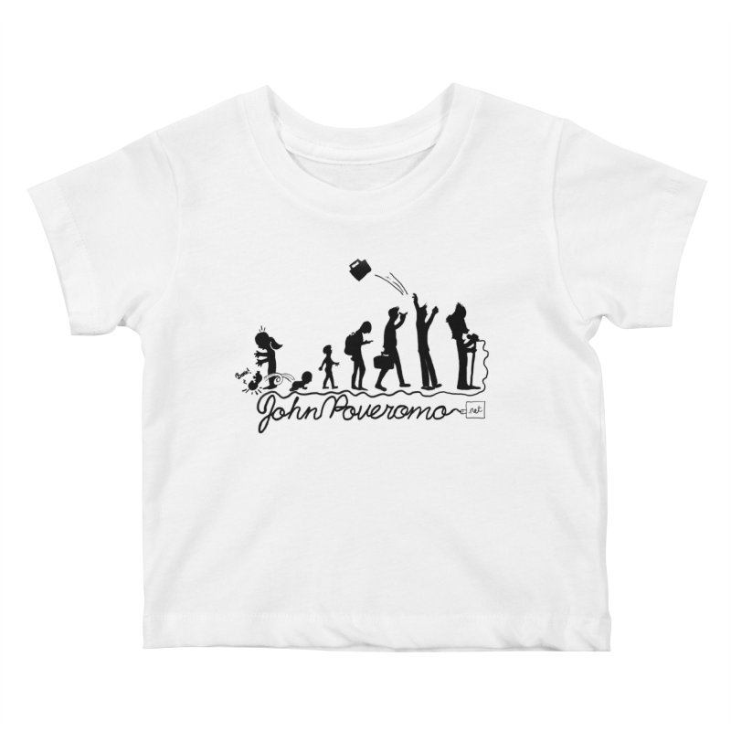 Comic Evolution (Dot Net Edition) Kids Baby T-Shirt by John Poveromo's Artist Shop