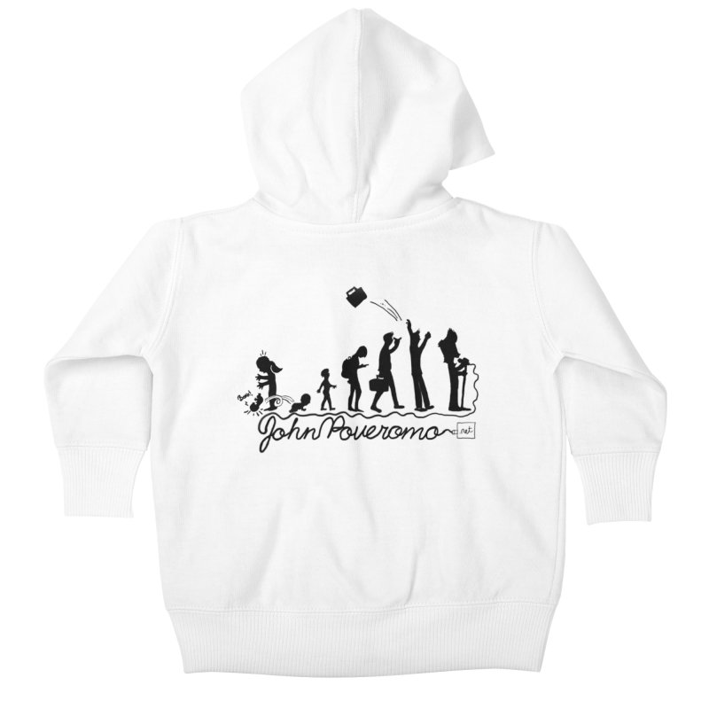 Comic Evolution (Dot Net Edition) Kids Baby Zip-Up Hoody by John Poveromo's Artist Shop