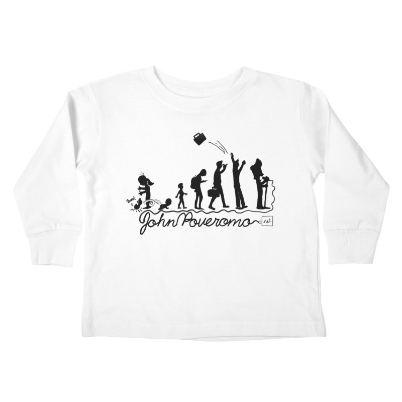 Comic Evolution (Dot Net Edition) Kids Toddler Longsleeve T-Shirt by John Poveromo's Artist Shop