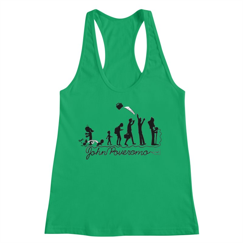 Comic Evolution (Dot Net Edition) Women's Tank by John Poveromo's Artist Shop