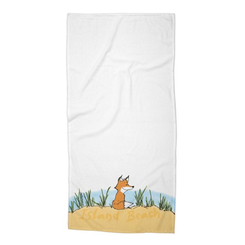 Zero Fox Given Accessories Beach Towel by John Poveromo's Artist Shop
