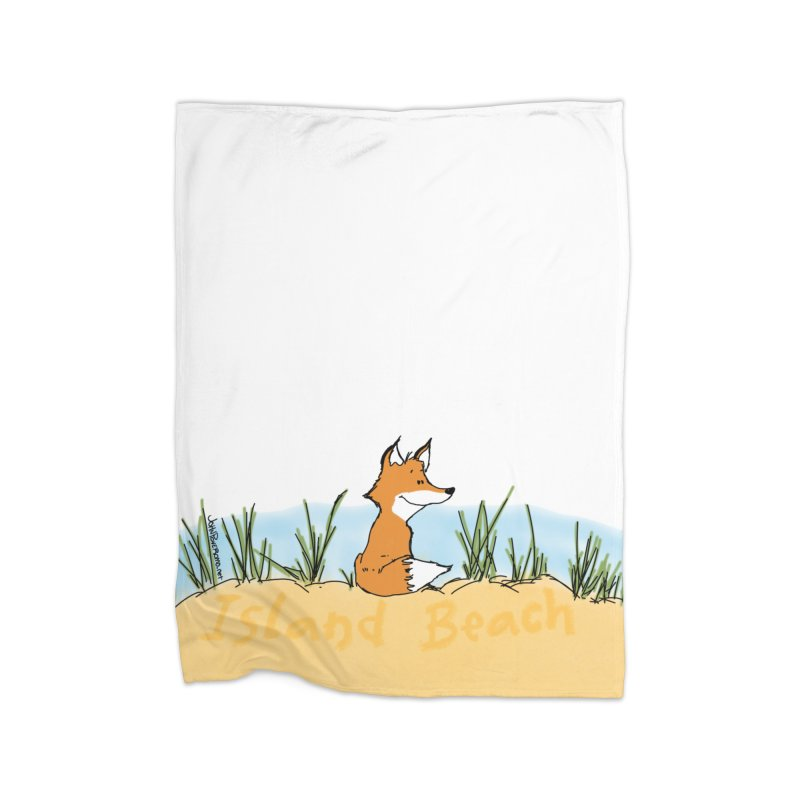 Zero Fox Given Home Fleece Blanket Blanket by John Poveromo's Artist Shop