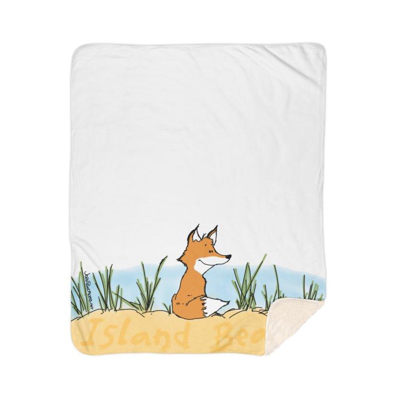 Zero Fox Given Home Sherpa Blanket Blanket by John Poveromo's Artist Shop