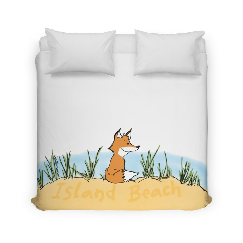 Zero Fox Given Home Duvet by John Poveromo's Artist Shop