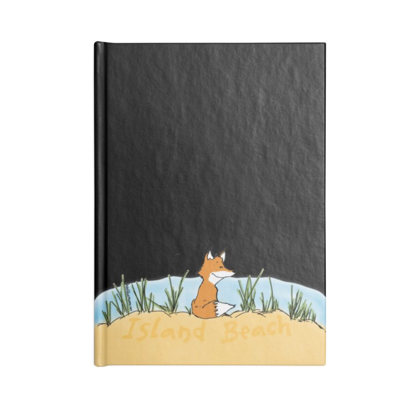 Zero Fox Given Accessories Lined Journal Notebook by John Poveromo's Artist Shop