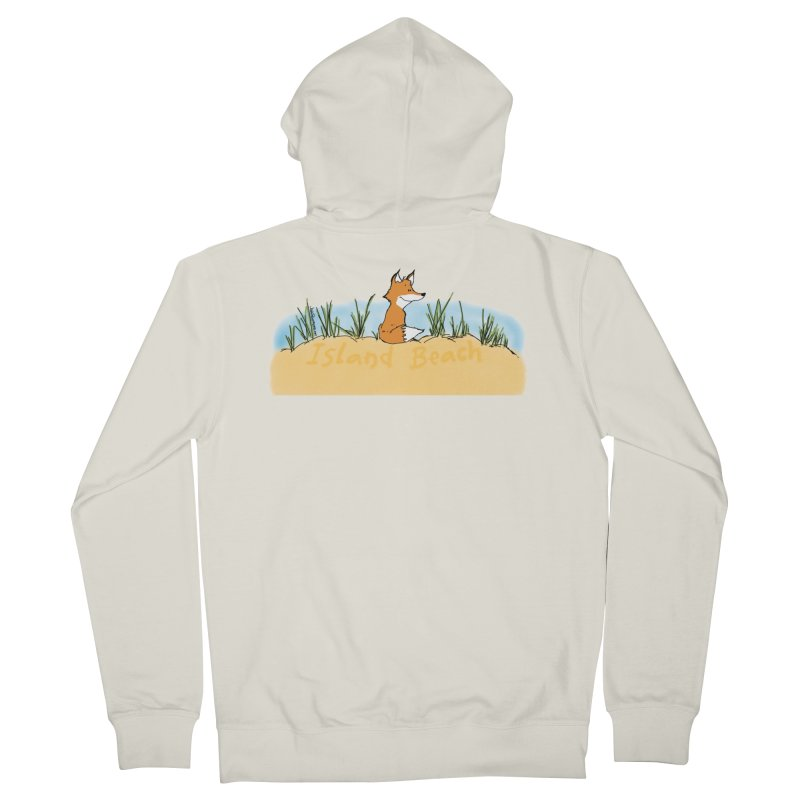 Zero Fox Given Women's French Terry Zip-Up Hoody by John Poveromo's Artist Shop