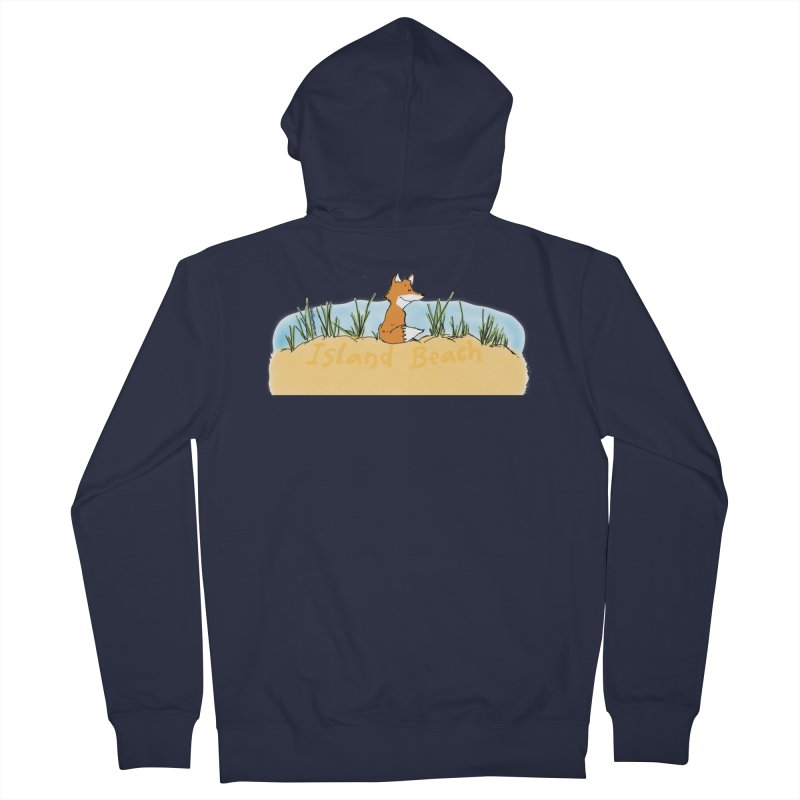 Zero Fox Given Men's French Terry Zip-Up Hoody by John Poveromo's Artist Shop