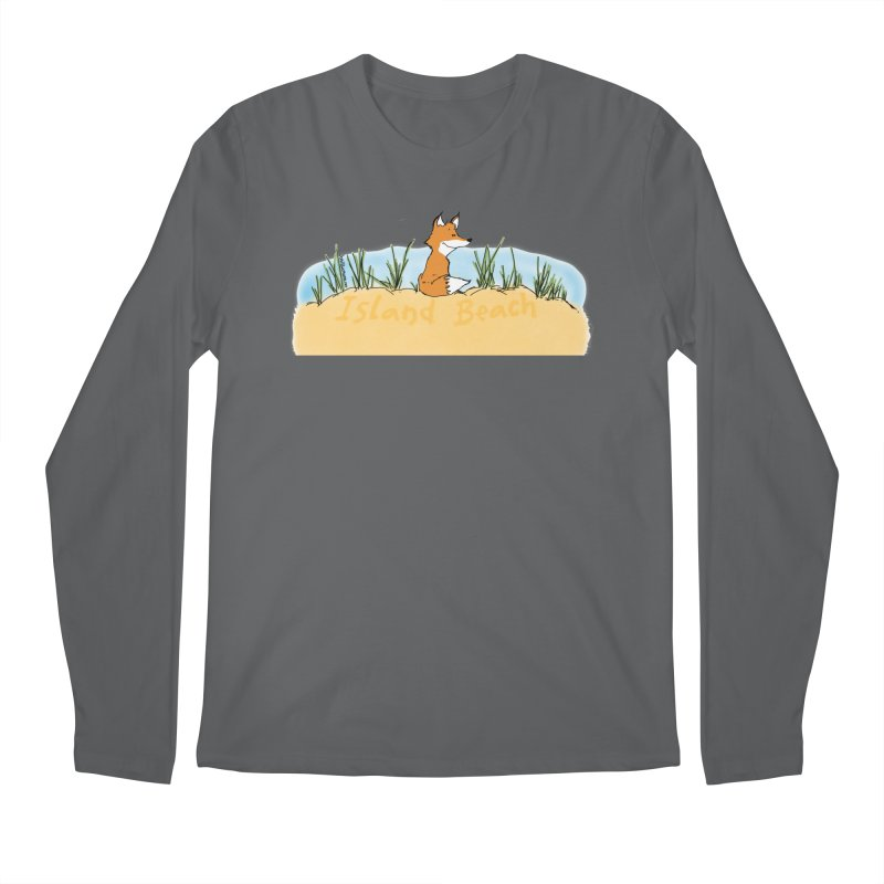 Zero Fox Given Men's Regular Longsleeve T-Shirt by John Poveromo's Artist Shop