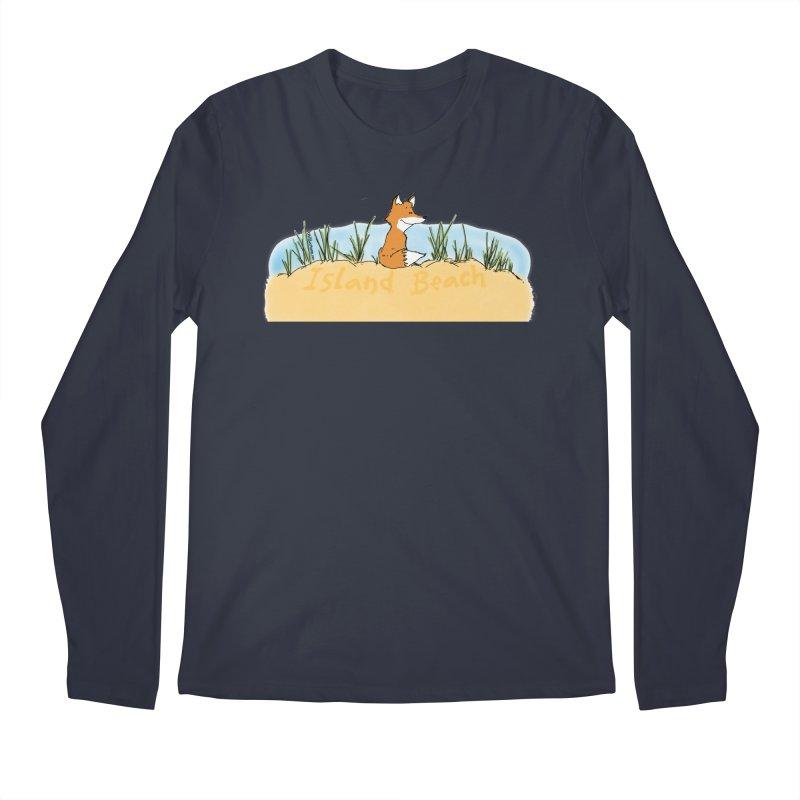 Zero Fox Given Men's Regular Longsleeve T-Shirt by John Poveromo's Artist Shop
