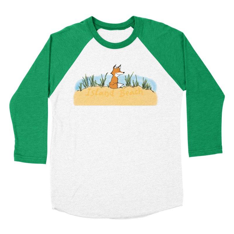 Zero Fox Given Men's Baseball Triblend Longsleeve T-Shirt by John Poveromo's Artist Shop