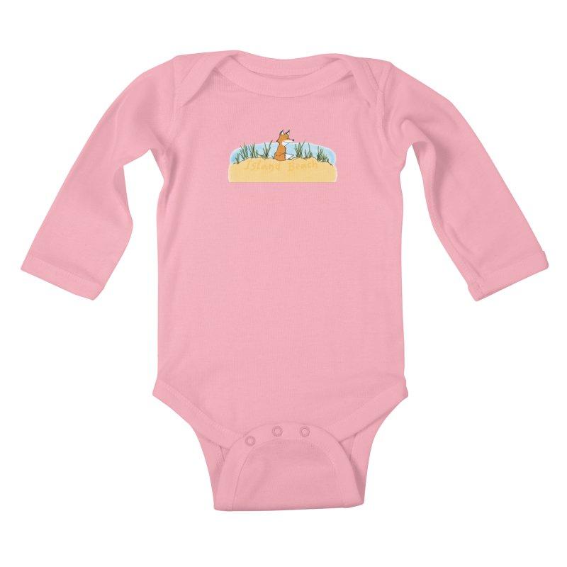 Zero Fox Given Kids Baby Longsleeve Bodysuit by John Poveromo's Artist Shop