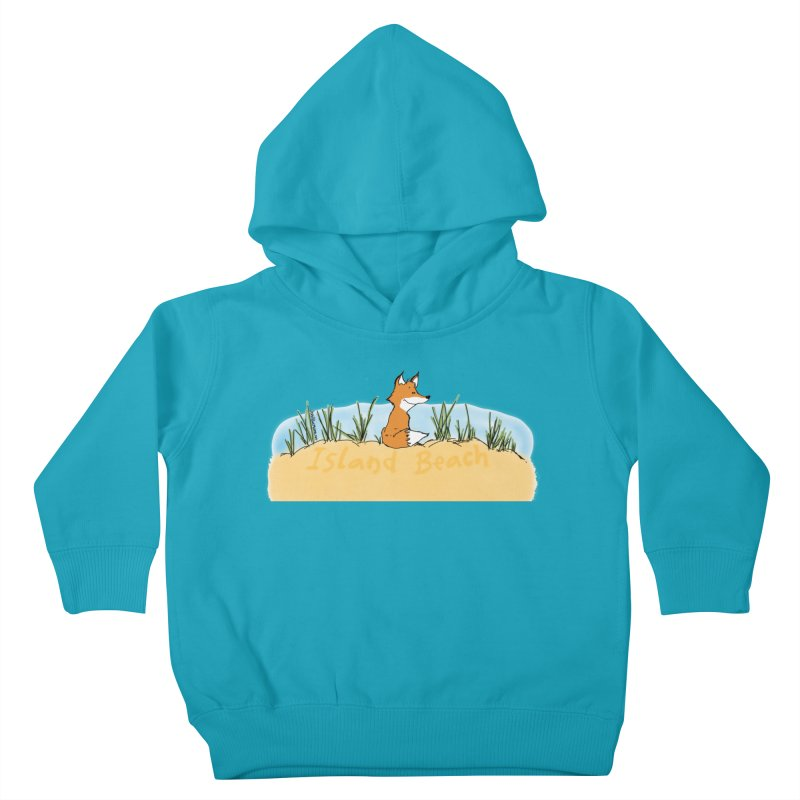 Zero Fox Given Kids Toddler Pullover Hoody by John Poveromo's Artist Shop