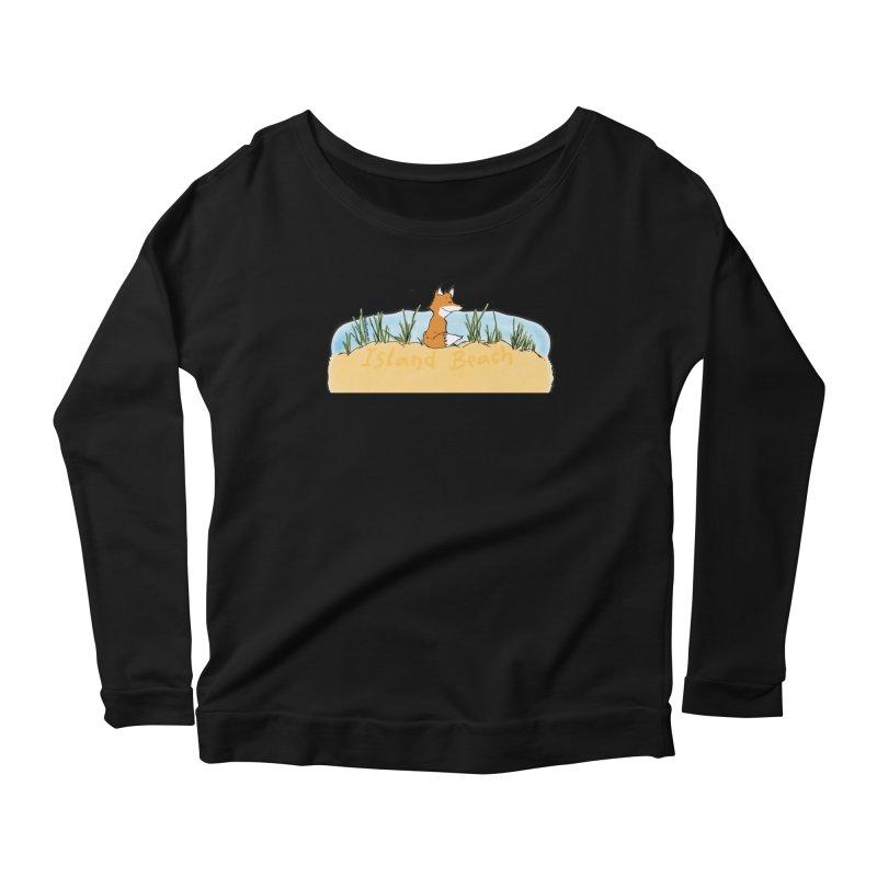 Zero Fox Given Women's Scoop Neck Longsleeve T-Shirt by John Poveromo's Artist Shop