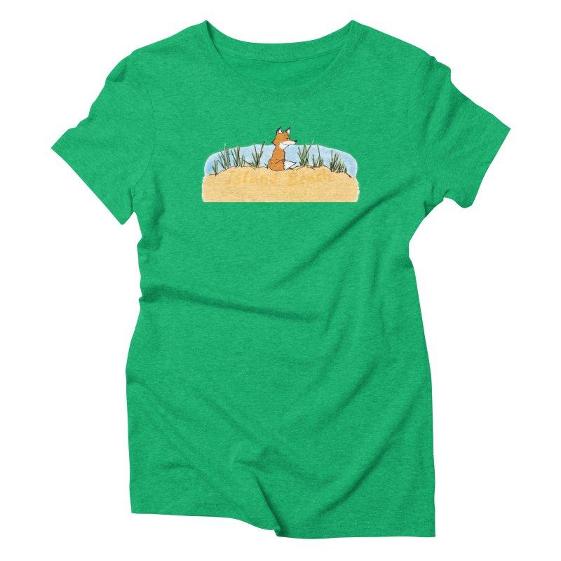 Zero Fox Given Women's Triblend T-Shirt by John Poveromo's Artist Shop