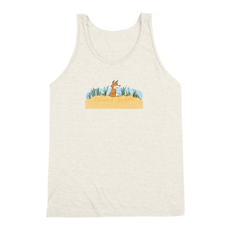 Zero Fox Given Men's Triblend Tank by John Poveromo's Artist Shop