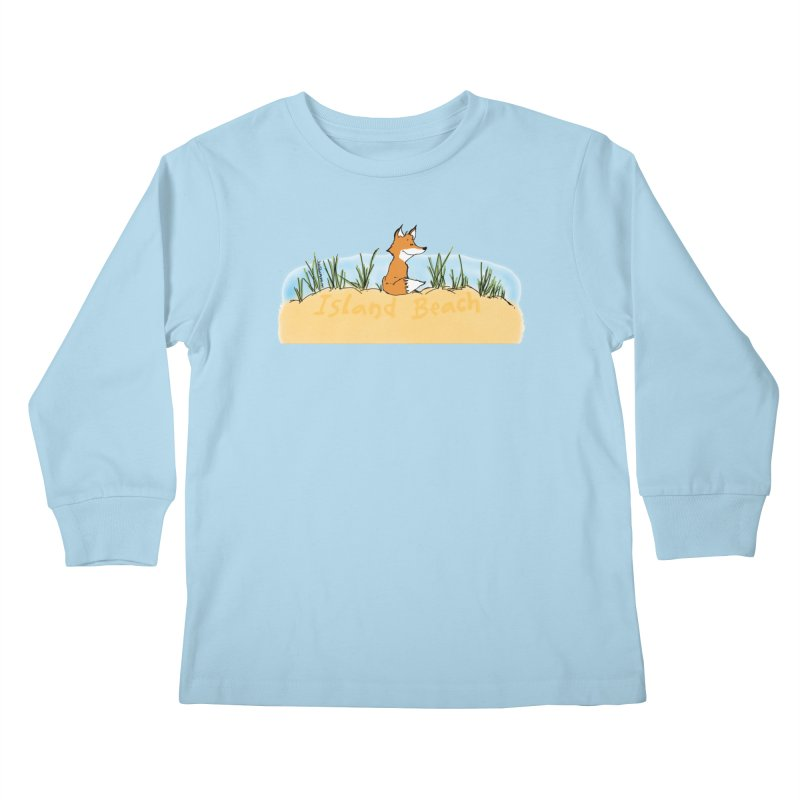 Zero Fox Given Kids Longsleeve T-Shirt by John Poveromo's Artist Shop
