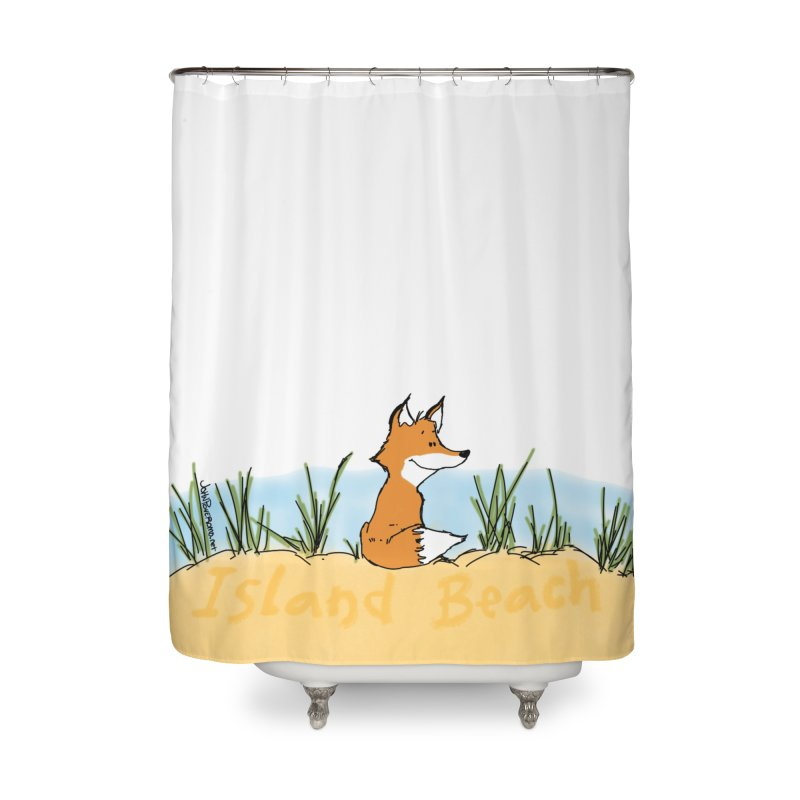 Zero Fox Given Home Shower Curtain by John Poveromo's Artist Shop