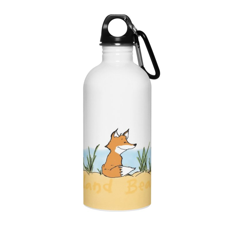 Zero Fox Given Accessories Water Bottle by John Poveromo's Artist Shop