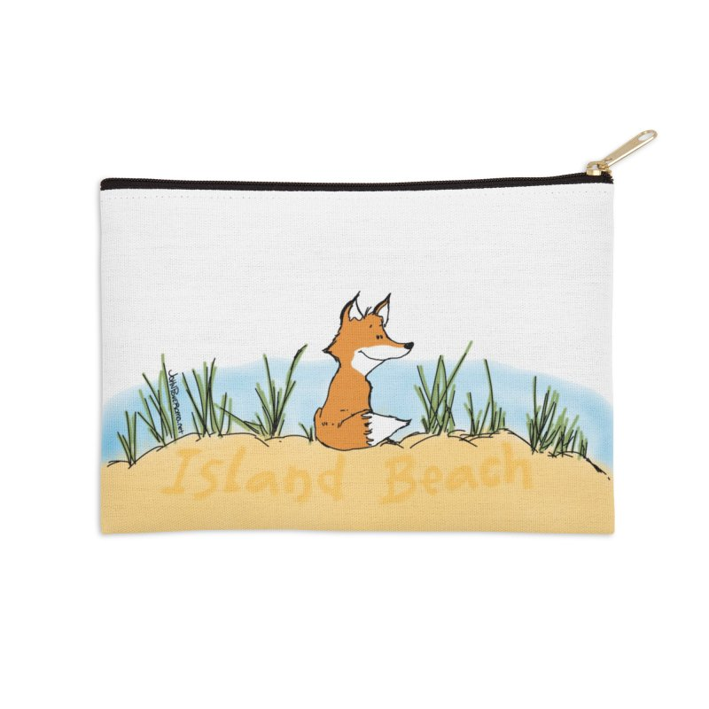 Zero Fox Given Accessories Zip Pouch by John Poveromo's Artist Shop