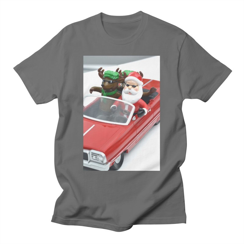Here Comes Santa! Men's T-Shirt by MY CHRISTMAS SHOP JONATHAN BROOKS