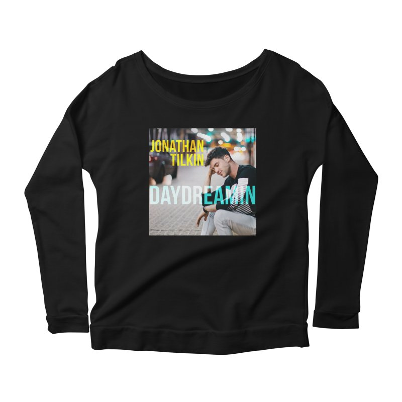 Daydreamin Album Art Apparel & Prints Women's Scoop Neck Longsleeve T-Shirt by Jonathan TIlkin's Shop