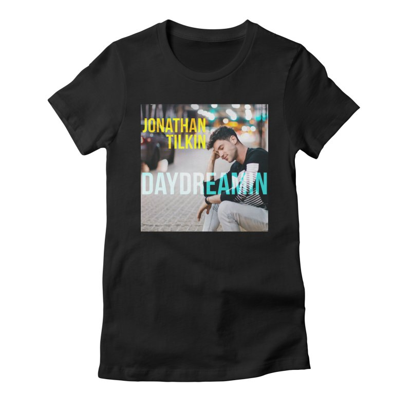 Daydreamin Album Art Apparel & Prints Women's Fitted T-Shirt by Jonathan TIlkin's Shop