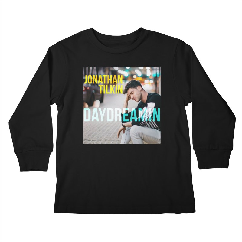 Daydreamin Album Art Apparel & Prints Kids Longsleeve T-Shirt by Jonathan TIlkin's Shop