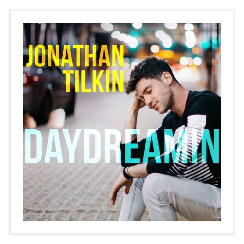 Daydreamin Album Art Apparel & Prints Home Fine Art Print by Jonathan TIlkin's Shop
