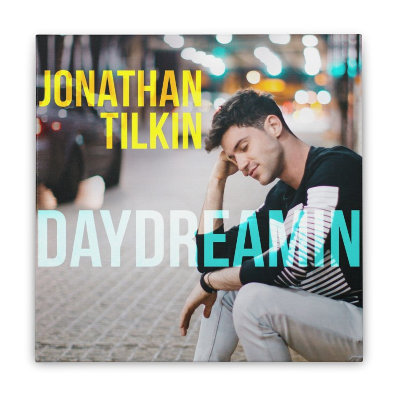 Daydreamin Album Art Apparel & Prints Home Stretched Canvas by Jonathan TIlkin's Shop