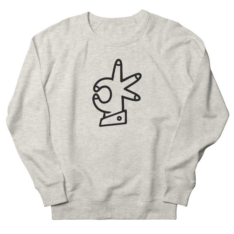 It's A-OK! Men's French Terry Sweatshirt by Jon Gerlach's Artist Shop