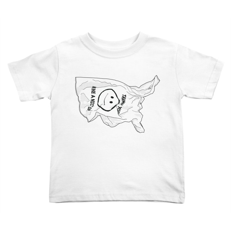 United States of Plastic Kids Toddler T-Shirt by Jon Gerlach's Artist Shop