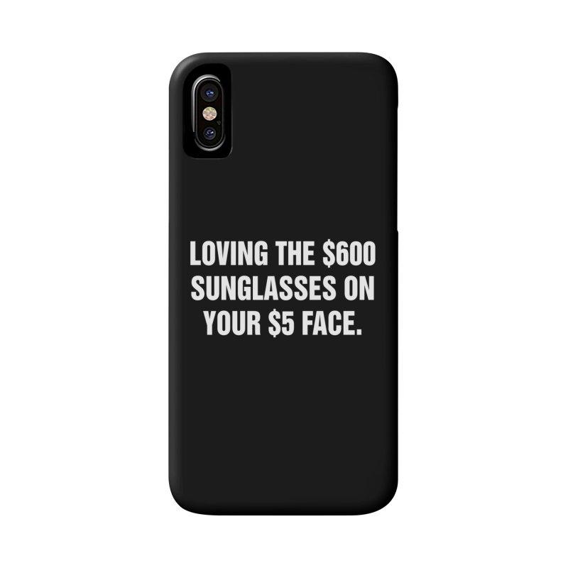 "SIDE EYE/""Five Dollar Face"" (White) Accessories Phone Case by Josh Sabarra's Shop"