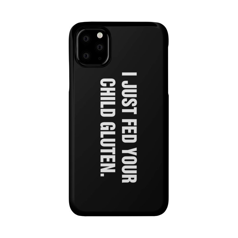 "SIDE EYE/""Gluten"" (White) Accessories Phone Case by Josh Sabarra's Shop"