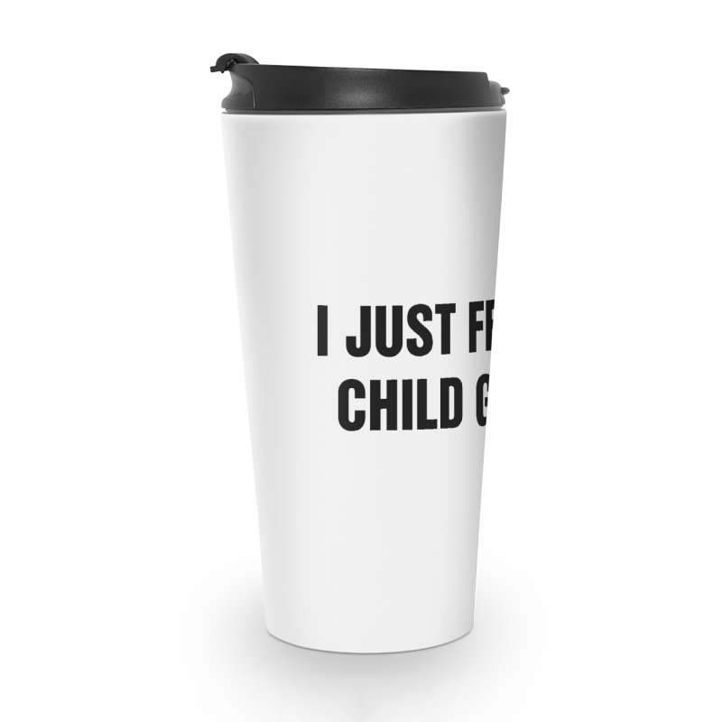 "SIDE EYE/""Gluten"" (Black) Accessories Travel Mug by Josh Sabarra's Shop"