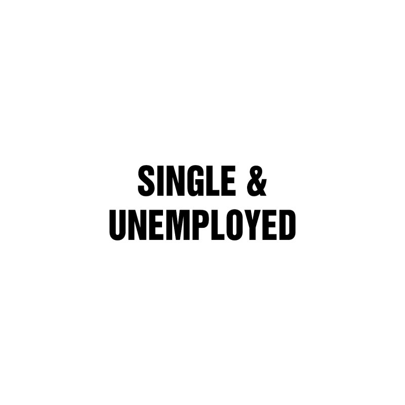"SIDE EYE/""Single & Unemployed"" (Black) Kids Toddler T-Shirt by Josh Sabarra's Shop"