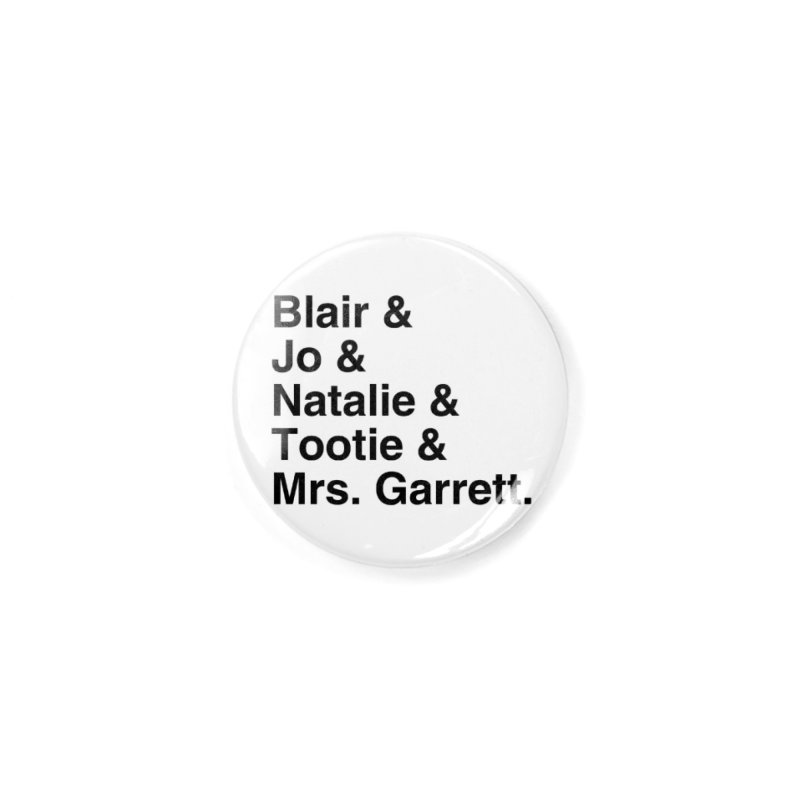 """SIDE EYE/""""The Facts Of Life"""" (Black) Accessories Button by Josh Sabarra's Shop"""