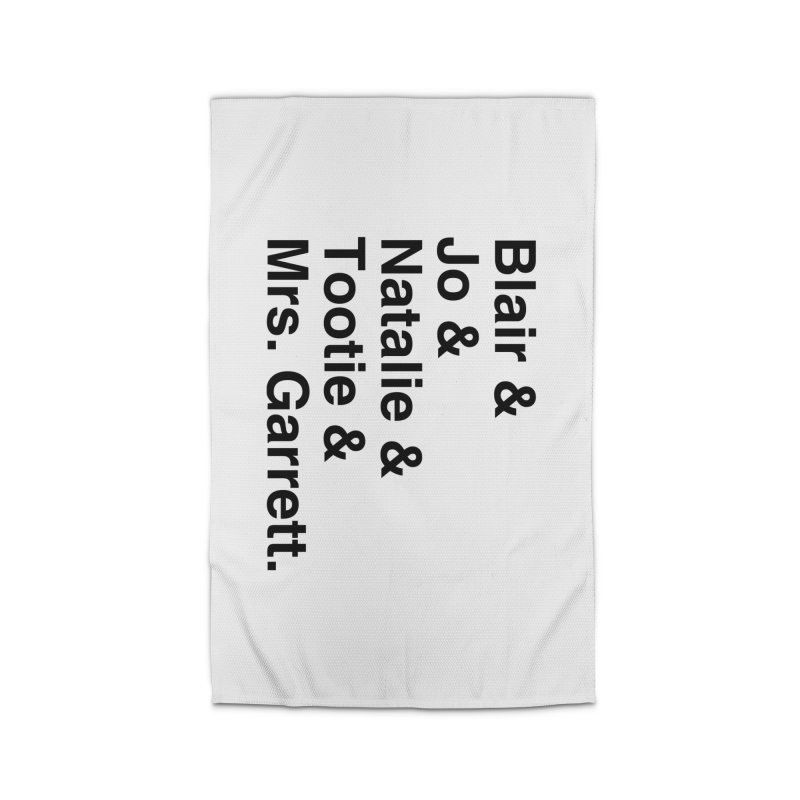 """SIDE EYE/""""The Facts Of Life"""" (Black) Home Rug by Josh Sabarra's Shop"""